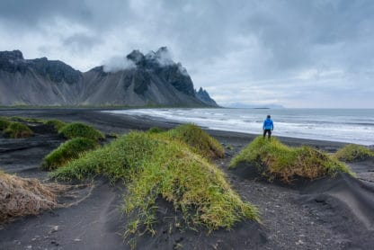 Schöne Landschaftsaufnahme auf Island