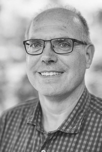Peter Hoffmann Fotograf Autor Schwarz-Weiß Porträt