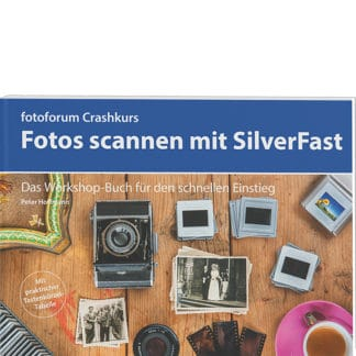 Buch Fotoforum Crashkurs Scannen mit Silverfast.