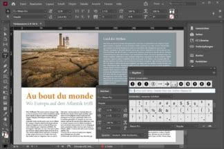 """Au bot du monde. Wo Europa suf den Atlantik trifft. Beispielbild aus dem Online-Kurs """"Vom Bild zum Buch mit InDesign."""" von Peter Hoffmann. fotoforum Akademie."""