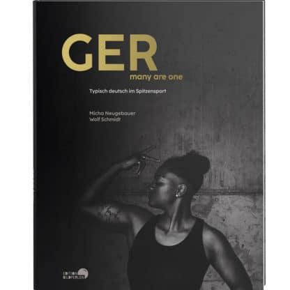 Cover Buch Bildperlen GER – many are one. Typisch Deutsch im Spitzensport. Micha Neugebauer und Wolf Schmidt Edition Bildperlen